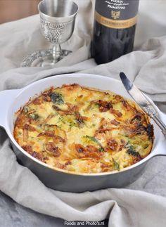 Broccoli bloemkool ovenschotel  