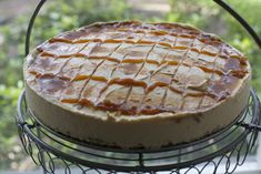Kuchen helado de lúcuma
