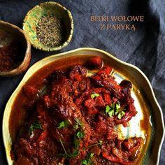 Stare Gary: Bitki wołowe z papryką z wolnowaru Polish Recipes, Polish Food, Chorizo, Slow Cooker, Beef, Cauliflower, Meat, Polish Food Recipes, Crock Pot