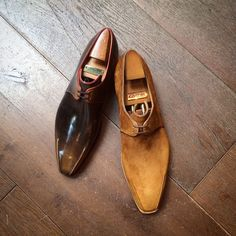 Master shoemaker Pierre Corthay is in the house Oct. 9 & 10 for our fall trunk show. Stop by, meet the maestro and check out his shoes.
