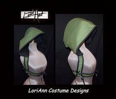Choice of colors - Add-a-Hoodie Harness by LoriAnn Costume Designs - Choose Color and Size Great for Renaissance Faire