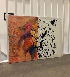 Lion art work 🦁