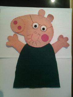 Fantoche Papai Pig