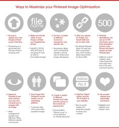 Pinterest Image Optimisation. The Complete Pinterest Resources Guide For Power Users.