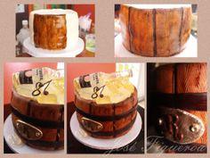 Barrel cake by Jose Figueroa
