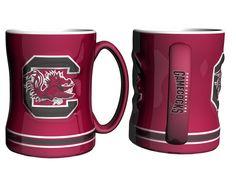 South Carolina Gamecocks Coffee Mug - 14oz Sculpted