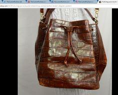 Furla bag purse bucket drawstring satchel leather brown alligator pattern Italian ~ http://stores.ebay.com/thecurrentfashion/Bags-/_i.html?_fsub=10888362012 , http://stores.ebay.com/thecurrentfashion?_dmd=2&_nkw=leather | #TheCurrentFashion #eBay #eBayFashion #style #fashion #Furla #Furlabag #Furlabucket #Furlasatchel #Furladrawstring #Furlafeeling #Furlametropolis #hellospring #springfashion #ss17 #handbag #bag #bucketbag #drawstringbag #satchel #satchelbag #leather #leatherhandbag…