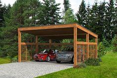 Building A Carport, 2 Car Carport, Carport Plans, Carport Garage, Carport Ideas, Pergola Carport, Wood Carport Kits, Lean To Carport, Gazebo