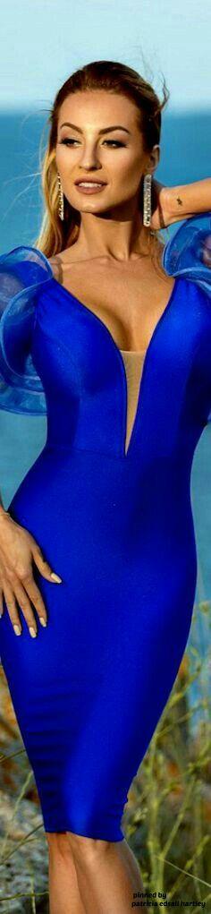 Bold Beautiful You Fashion Love Blue, Blue Style, Luxury Girl, Blue Crush, Blue Bouquet, Blue Fashion, Midnight Blue, Cobalt Blue, Shades Of Blue