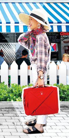 KRIS 755 BACKPACK RED