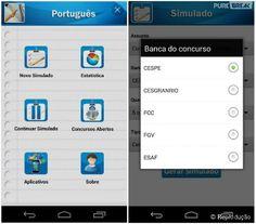 O aplicativo ajuda a treinar para provas ao mesmo tempo que ensina português