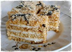 Nemehlo v kuchyni: Marlenka (bez váľania plátov) Krispie Treats, Rice Krispies, Desserts, Food, Drinks, Essen, Tailgate Desserts, Drinking, Deserts