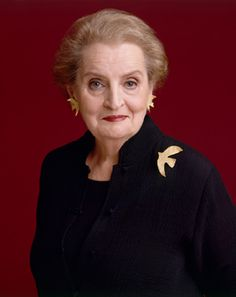 Inspirational Women - Madeleine Albright, Former U. Secretary of State Good Woman, Famous Girls, Famous Women, Famous People, Great Women, Amazing Women, Smart Women, Madeleine Albright, Cecile