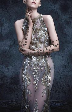 """Michael Cinco """"The Impalpable Dream of Versailles"""" Fall 2017 Couture Collection"""