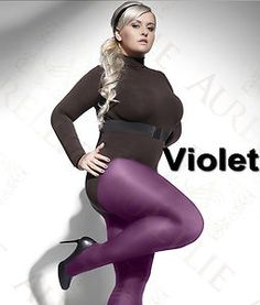 these opaque tights are available in 11 colours and up to size 6xl