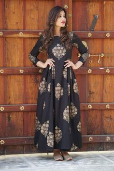 The Largest Online Indian ethnic wear store for women - Sarees, Salwar Suits. Western Dresses, Indian Dresses, Indian Outfits, Frock For Women, Kurta Designs, Dress Designs, Blouse Designs, Indian Designer Wear, Indian Fashion