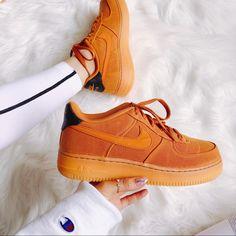 Nike Shoes | Nike Air Force 1 Lv8 | Color: Orange/Tan | Size: Various Air Force 1, Nike Air Force, Shoes Nike Adidas, Air Presto, Air Max 270, Air Zoom, Nike Women, Shoes Sneakers, Orange