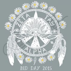 OMG this was our bid day shirt Zeta Tau Alpha | Sorority Shirts | Greek Life | South by Sea