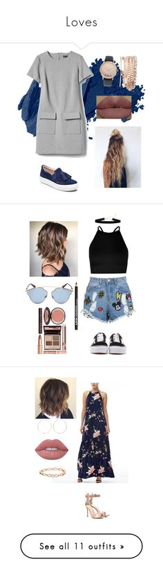 """""""Loves"""" by fashionlover351 ❤ liked on Polyvore featuring Bobbi Brown Cosmetics, Jessica Carlyle, J/Slides, Kylie Cosmetics, skirts, mini skirts, bottoms, saias, faldas and zimmermann skirt"""