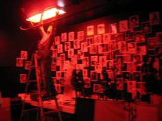 Rigging the SoL darkroom for a music video shoot Aesthetic Images, Aesthetic Photo, Aesthetic Wallpapers, Labo Photo, Picture Wall, Photo Wall, Dark Room Photography, Red Aesthetic Grunge, Arte Obscura