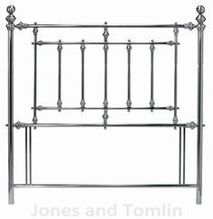 Bentley Designs Imperial Headboard - Nickel