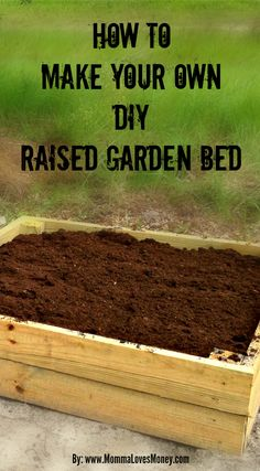 Raised garden beds actually make for a more productive vegetable garden and they are easy on the eyes too. Find out how to make your own here.