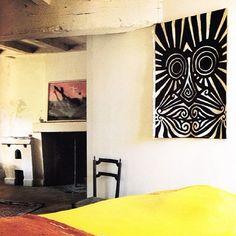 Alexander Calder's guest room