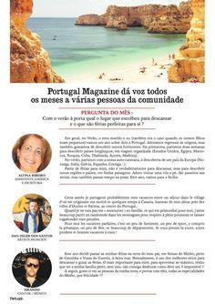 Portugal Mag Juillet/Août 2016