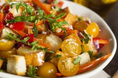Vegetarian Recipe: Panzanella Salad