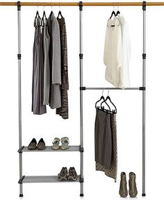 Whitmor Closet Organization System, Closet Rod   Closet Organization   For  The Home   Macyu0027s