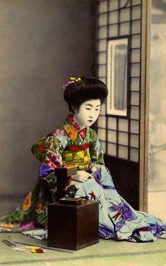 Haribako Tansu - Sewing Box 1910s