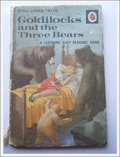 Goldilocks And The Three Bears Fables Comic, Daughters, To My Daughter, Goldilocks And The Three Bears, 3 Bears, Ladybird Books, Golden Days, Three Little Pigs, Dream Land