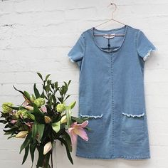 A little taste of what's coming to our Pop-up Shop in Warrnambool. Opening 30th October (Koroit Street opposite Target). #warrnambool #popupshop #fashion #love #3280 #warrnamboolpopupshop #denim #denimdress @portfairydayspa by woodenowl