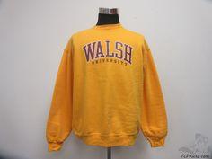 Vtg 90s Champion Walsh Cavaliers Crewneck Sweatshirt sz XL Extra Large NCAA #Champion #OhioStateBuckeyes #tcpkickz