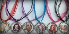 Boutique Bottle Cap Necklace Ever After High Party by dylivingston, $4.00