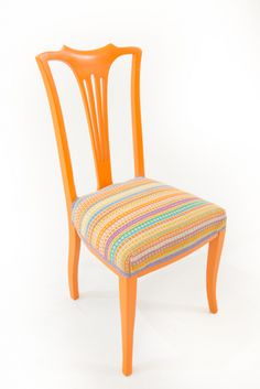 Tangerine chair - Angie Parker