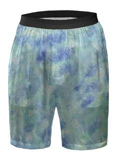 Blue lagoon Boxer Shorts by @savousepate on @printalloverme