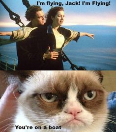 I love Titanic, but I still laughed ridiculously at this.