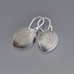 Image of Large Hydrangea Petal Earrings