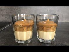Recept na Dalgona kávu | Dalgona Coffee Recipe - YouTube Glass Of Milk, Panna Cotta, Pudding, Drinks, Ethnic Recipes, Food, Youtube, Drinking, Dulce De Leche