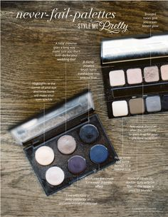 Perfect palettes for the bride