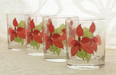 Vintage Highball Glasses Block SPAL Mary Lou by PlumsandHoney