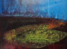Richard Heys Artist -'Lessons of Darkness - Lessons of Light' - 'A Memory of the Moors' Available as a limited edition Giclee print. www.richardianheys.co.uk