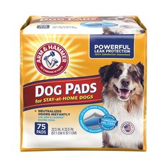 Arm and Hammer Ultra Absorbent Adult Dog Pads, 75 count ** To view further for this item, visit the image link.