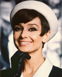 Audrey Hepburn - beautiful smile! Born Audrey Kathleen Ruston (1929-1993) British actress & humanitarian. Recognised as a film & fashion icon, Hepburn was active during Hollywood's Golden Age. She was ranked by the American Film Institute as the third greatest female screen legend in the history of American cinema.  Ms. Hepburn worked for UNICEF from 1954, she eventually became Goodwill Ambassador for UNICEF 1988-1992