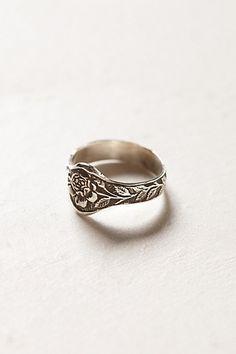Engraved Rose Ring - #anthrofave