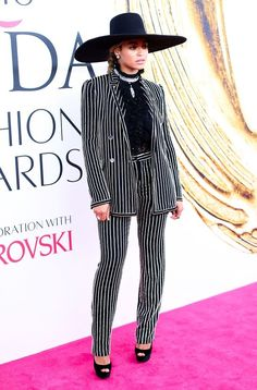 #Share #this #Style: #Best of #CFDA #Awards #2016 | #CouncilofFashionDesignersofAmericaAwards #outfit #Beyoncé #Givenchy #hat #suit