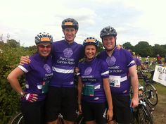 Carla and team from Lockton who completed the London to Brighton challenge raising money for Pancreatic Cancer Action. #pancreaticcanceraction #PCAction #fundraising #cyclechallenge