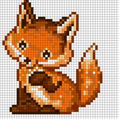 Baby Foxy by Sansan196 on Kandi Patterns