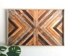 Reclaimed Wood Wall Art & Home Decor by SolsticeWoodworks on Etsy Wooden Wall Art Panels, Large Wood Wall Art, Diy Wood Wall, Reclaimed Wood Wall Art, Wooden Wall Decor, Rustic Wood Walls, Hanging Wall Art, Wood Wood, Feather Wall Art